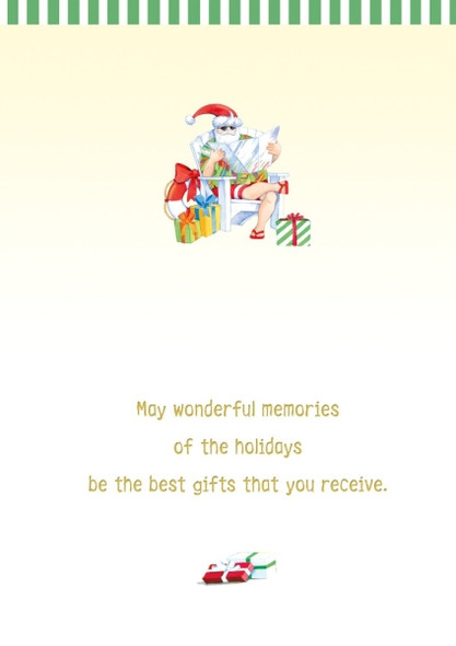 May wonderful memories of the holidays be the best gifts that you receive.