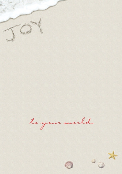 Joy to your world!