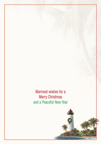 Warmest wishes for a Merry Christmas and a Peaceful New Year