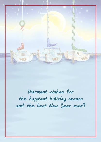 Warmest wishes for the happiest holiday season and the best New Year ever!