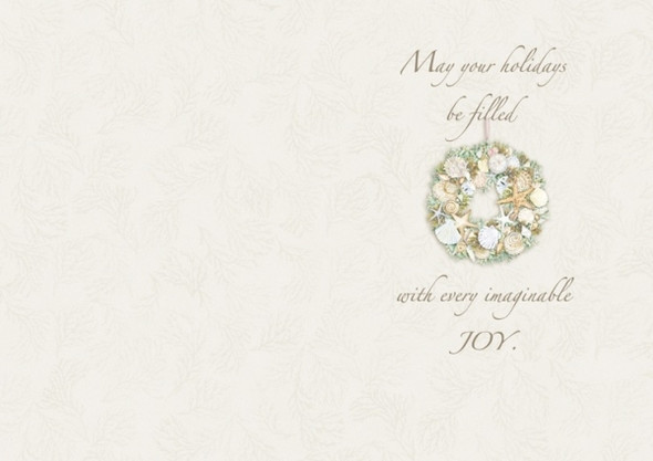 May your holidays be filled with every imaginable joy!