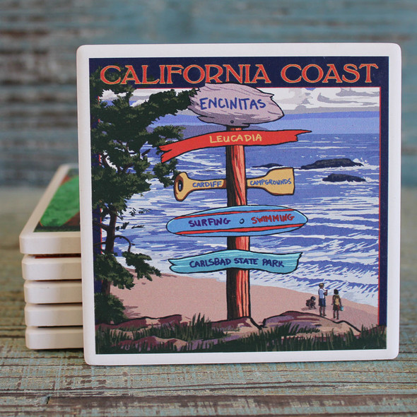 California Coast Encintas Coaster