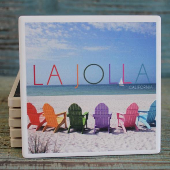 Color Beach Chairs La jolla