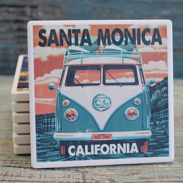 Santa Monica VW Van Coaster
