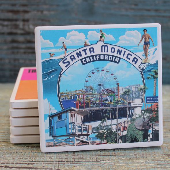 Santa Monica Pier Montage