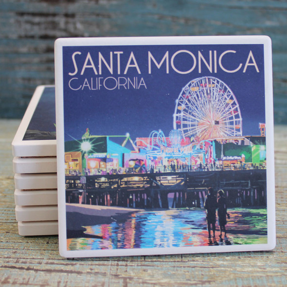 Santa Monica Pier Coaster