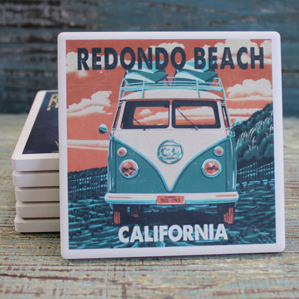 Redondo Beach VW Van
