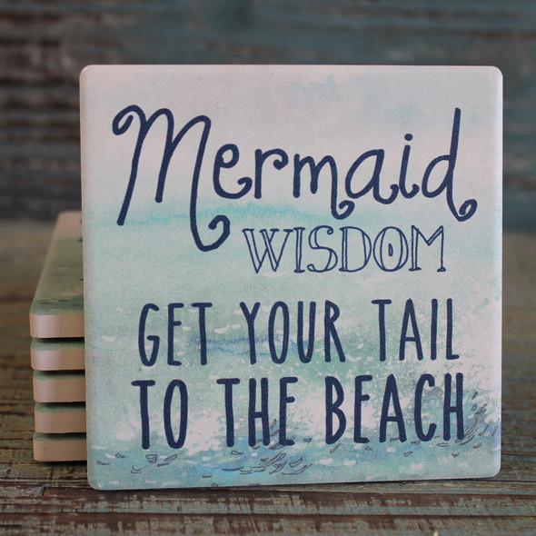 Mermaid Wisdom Coaster