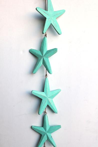 Aqua Starfish Garland