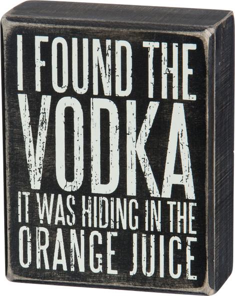 I found the vodka sign