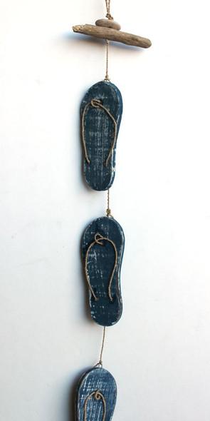 Blue Sandal Garland