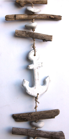 Anchor Driftwood Garland