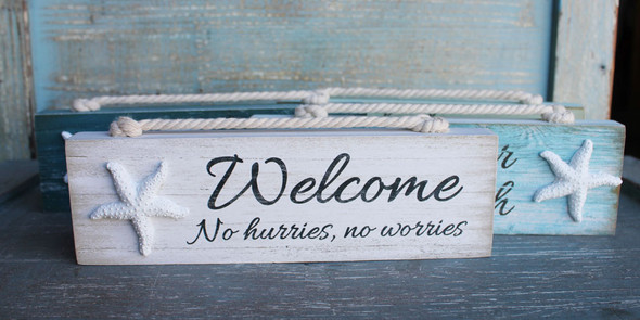 Welcome - No Hurries, No Worries