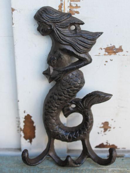 Brown Mermaid Triple Hook