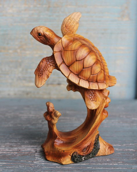 Swimming Turtle Figure