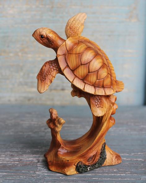 Swimming Turtle Figure