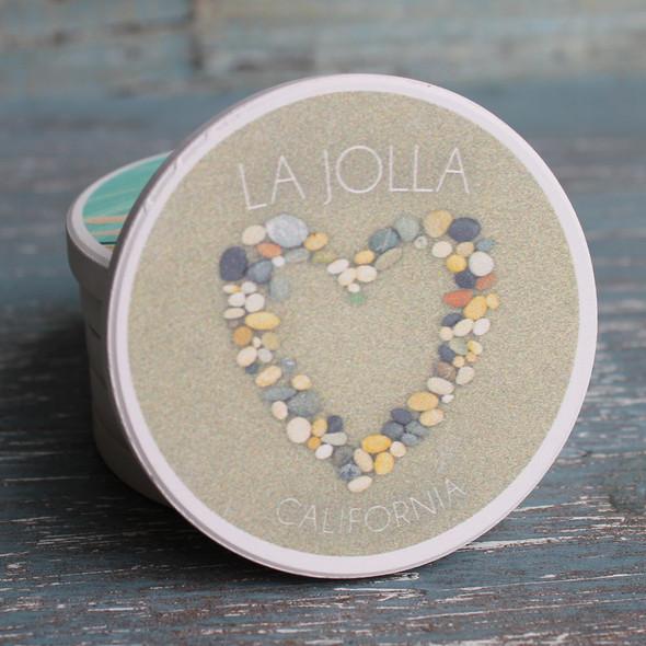 La Jolla Stone Heart