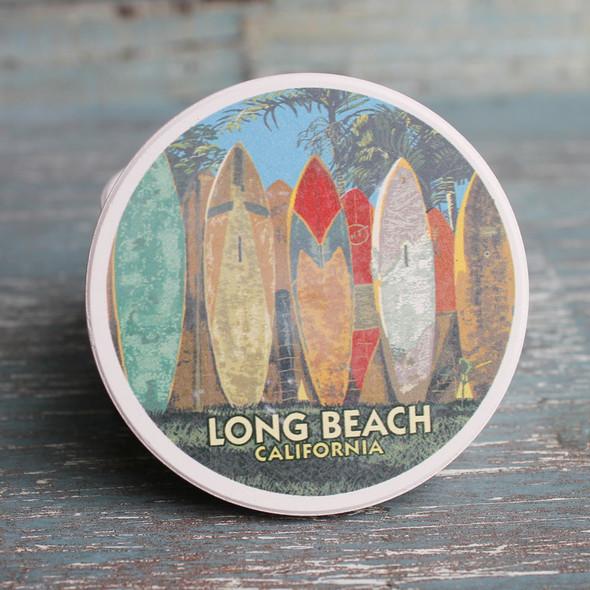 Surfboard Fence Long Beach