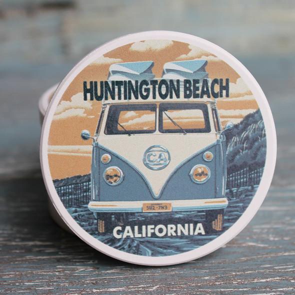Huntington Beach VW Van Car Coaster