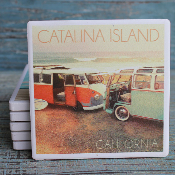 Catalina Island VW Vans Coaster