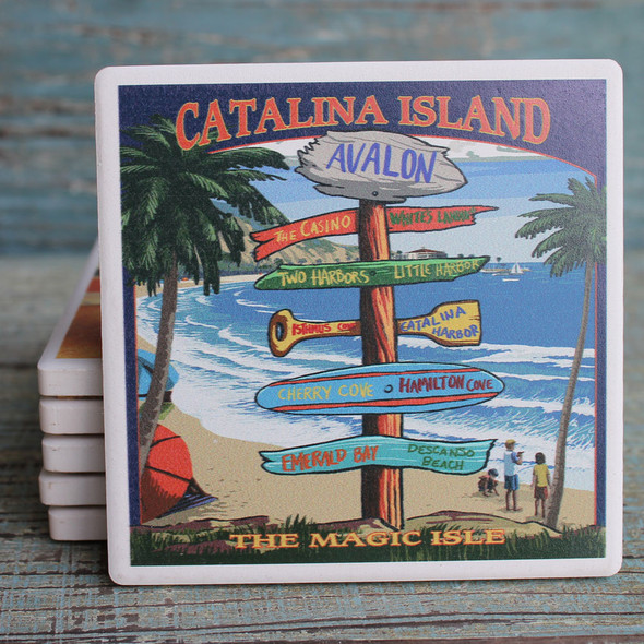 Catalina Island - Destination Signs Coaster