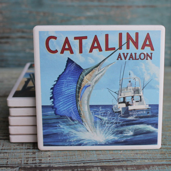 Catalina Sailfish Coaster