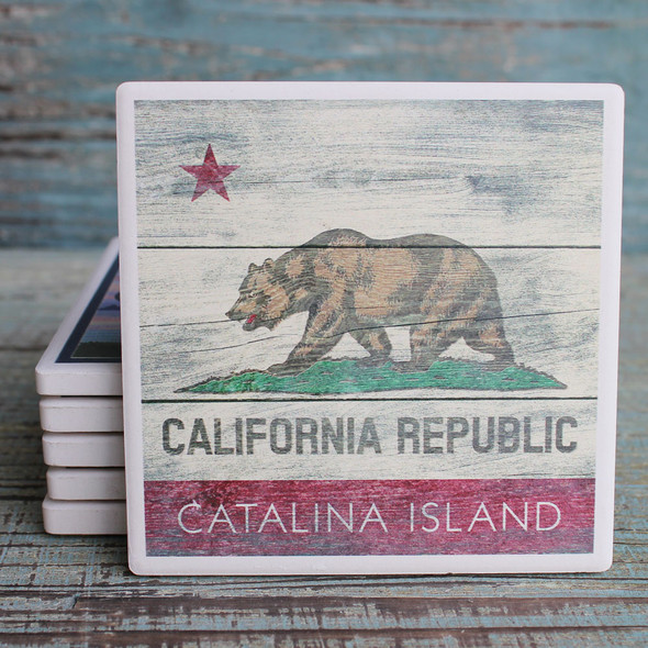 California Republic Flag - Catalina Island