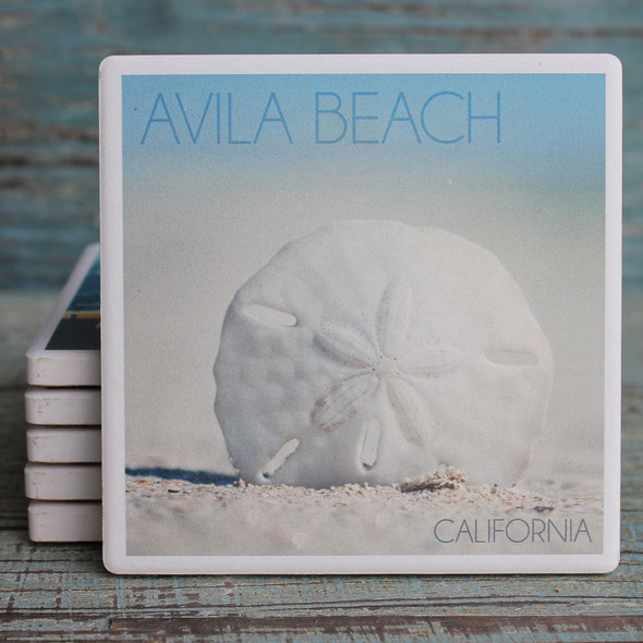 Sand Dollar Avila Beach Coaster