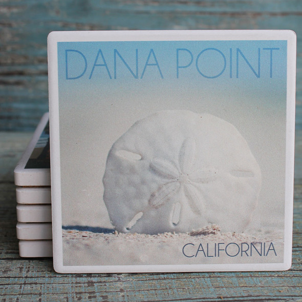 Dana Point Sand Dollar coaster