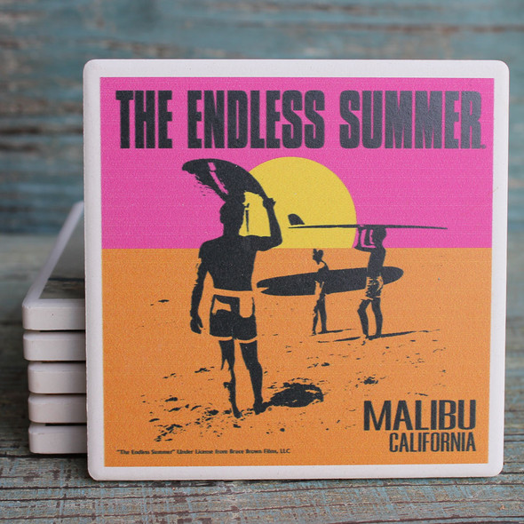 The Endless Summer Malibu Coaster