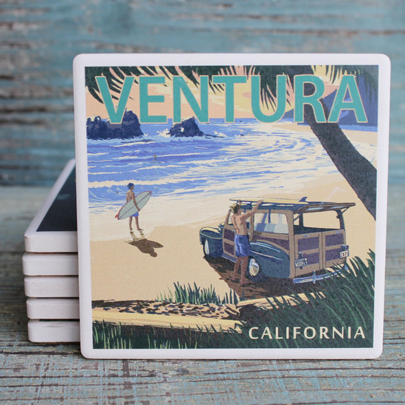 Ventura Woody on the Beach Coaster