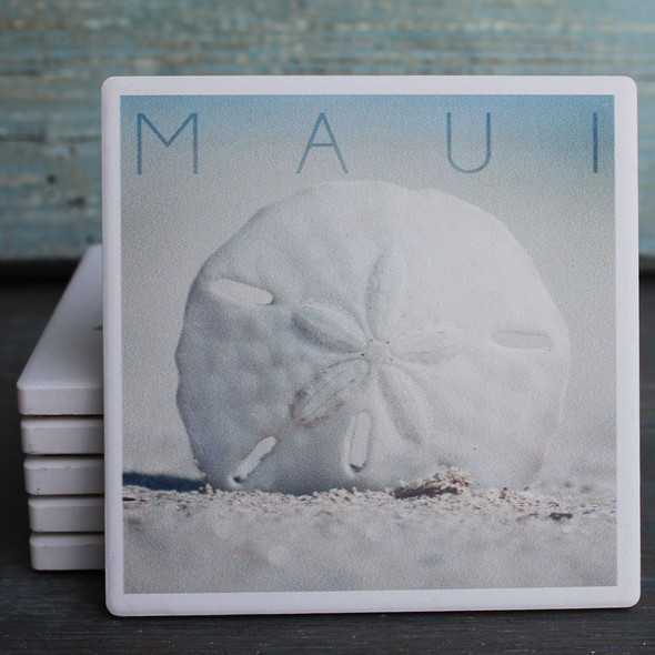 Maui Sand Dollar coaster