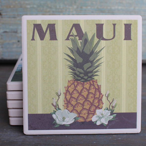 Maui Pineapple coaster