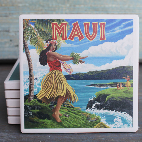 Maui Hula Girl coaster