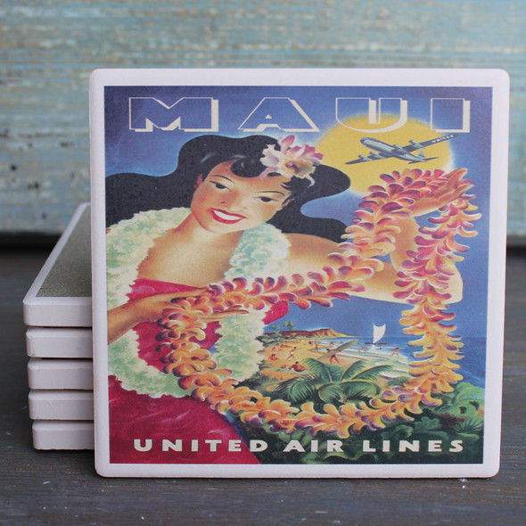 United Air Lines Maui coaster