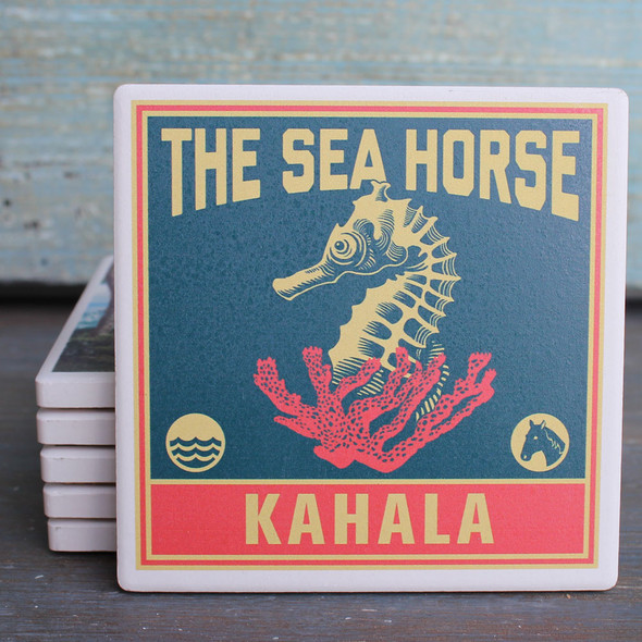 Kahala The Sea Horse coaster