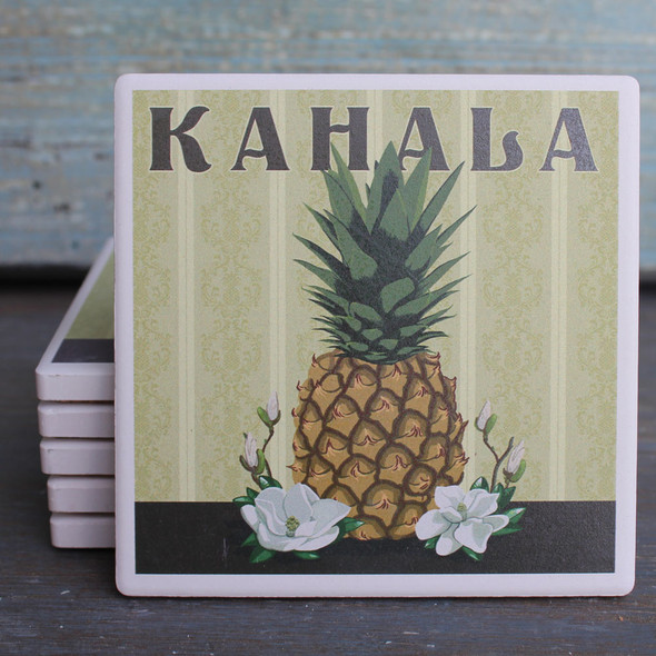 Kahala Pineapple coaster