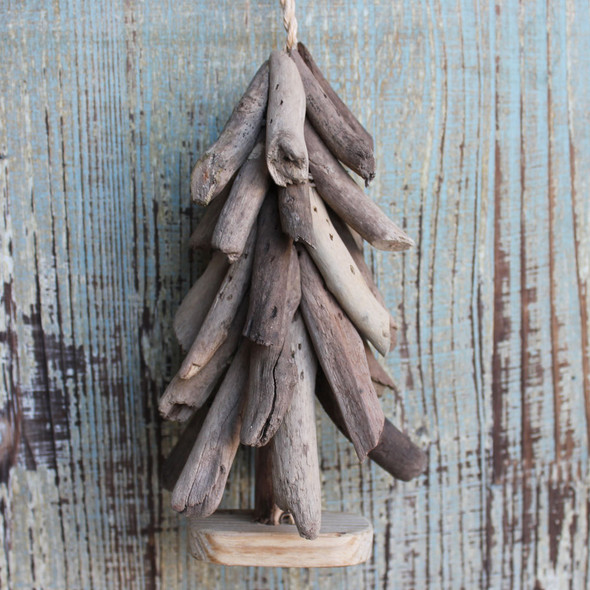 Driftwood Christmas Tree Ornament