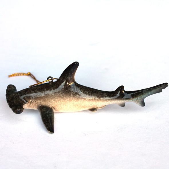 Hammerhead Shark Resin Ornament