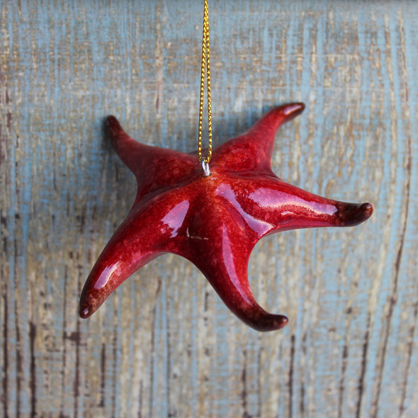 Resin Starfish Ornament