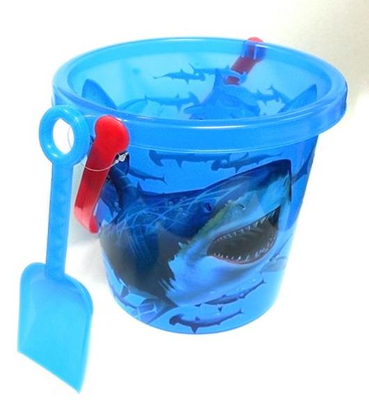 Shark Bucket and Shovel
