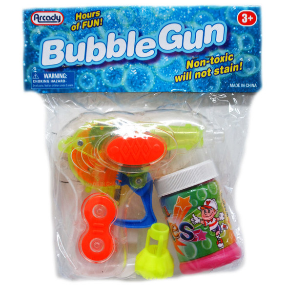 Light Up Bubble Gun