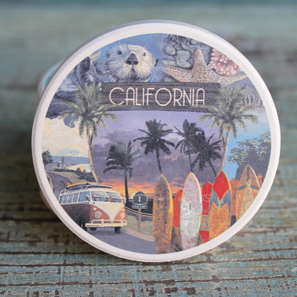 California Montage Car Coaster