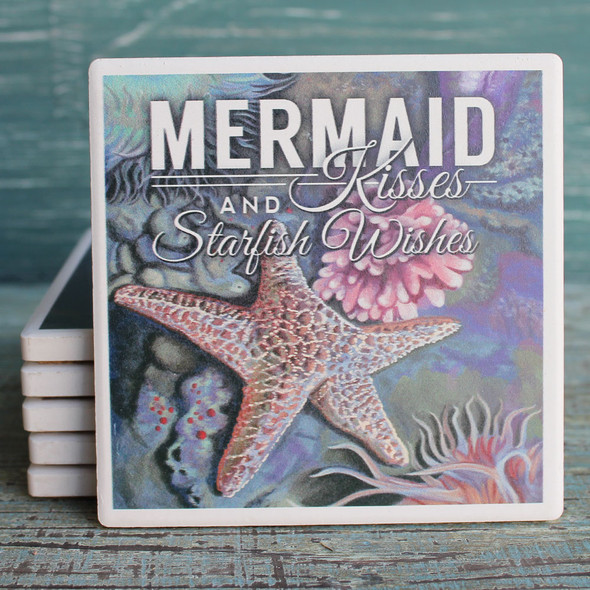 Mermaid Kisses Coaster