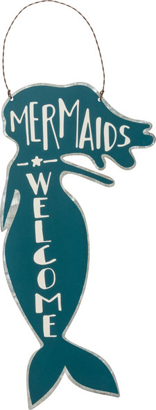 Mermaids Welcome Tin