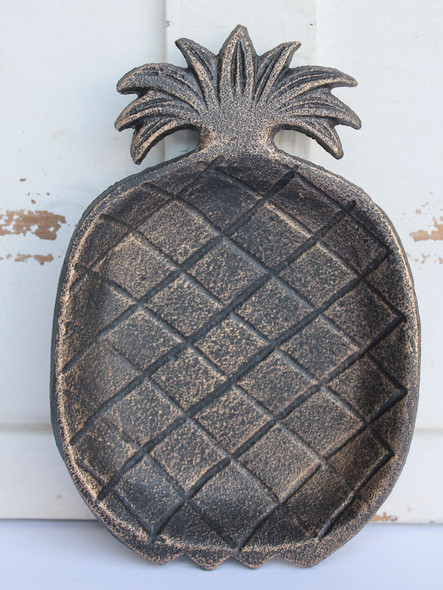 Pineapple Cast Iron Dish