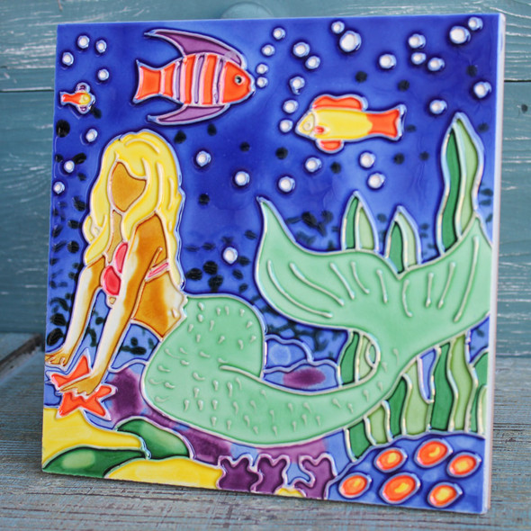 Mermaid Tile