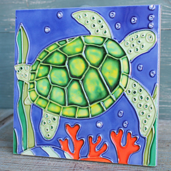 Sea Turtle Tile or Trivet