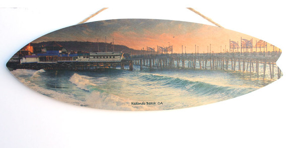 Redondo Beach Pier and Waves