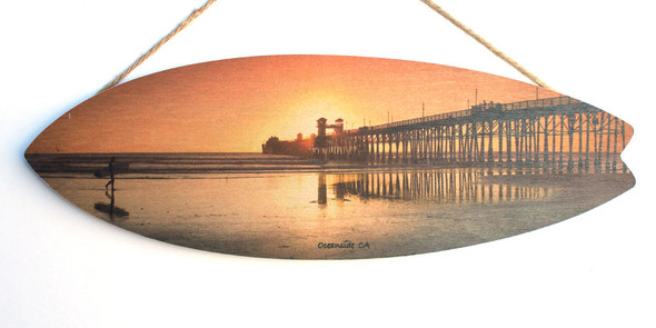 Oceanside Pier & Surfer
